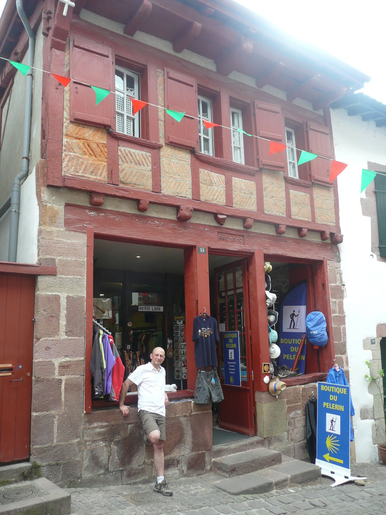 Qui sommes nous la boutique du p lerin st jean pied - Auberge du pelerin saint jean pied de port ...